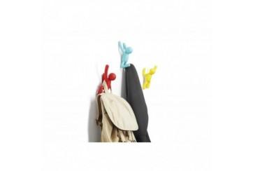 Umbra Buddy Appendiabiti, Plastica, 3 colori vivaci